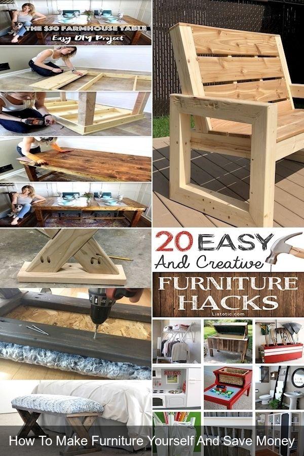 Antiquing Furniture Diy Creative, How To Make Simple Furniture