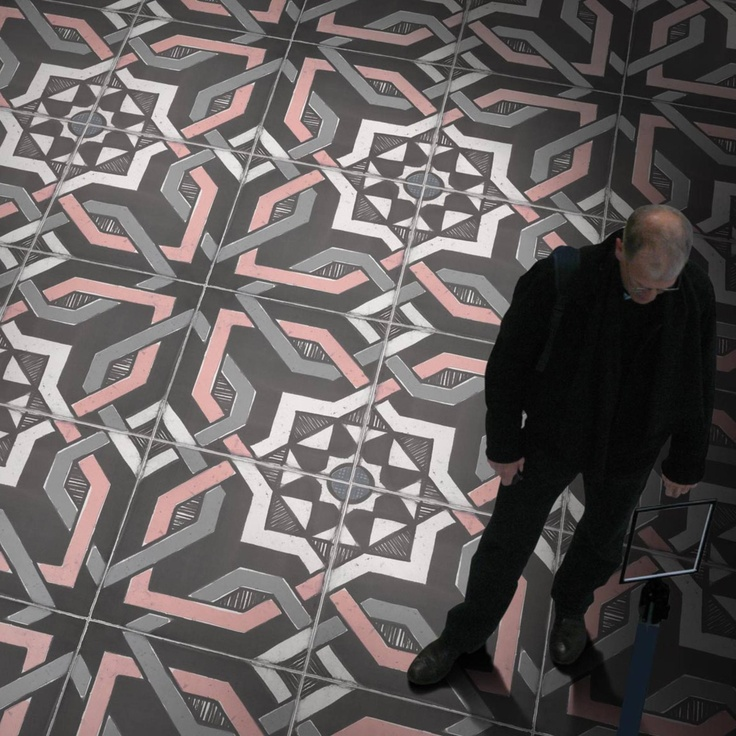 The most amazing floor tile