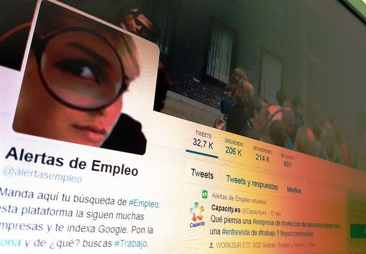 #Fraude806 en cuentas de Twitter sobre ofertas laborales: @alertasempleo, @AlertasTrabajo y @AyudaExperta