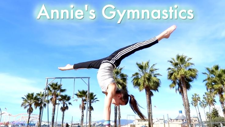 Annie's Gymnastics in L.A - YouTube
