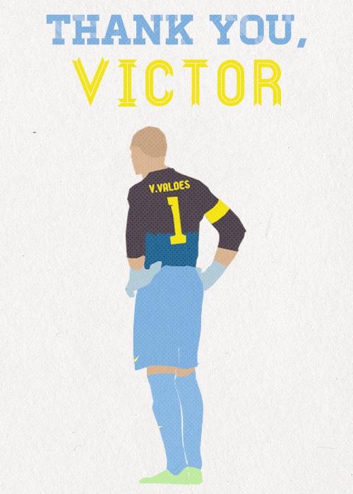 Gràcies, Víctor