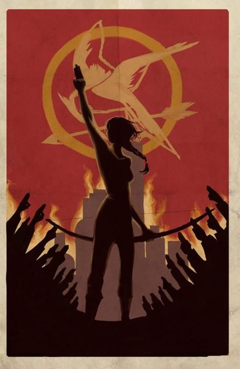 I'm completely ok with how obsessed with the Hunger Games I am