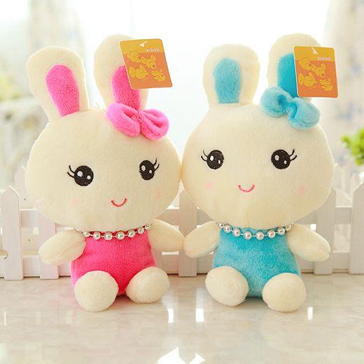 2 шт. жемчужина милый кролик, Плюшевые игрушки, Свадебные цветы распространение маленькие игрушки оптовая продажа, Анти-схватив куклы, День рождения рождественские подарки