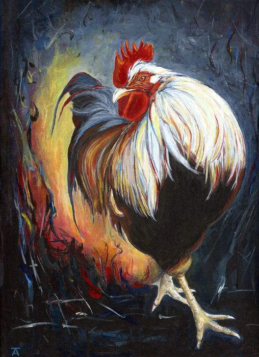 1367 Best Images About Chicken Painting Projects On