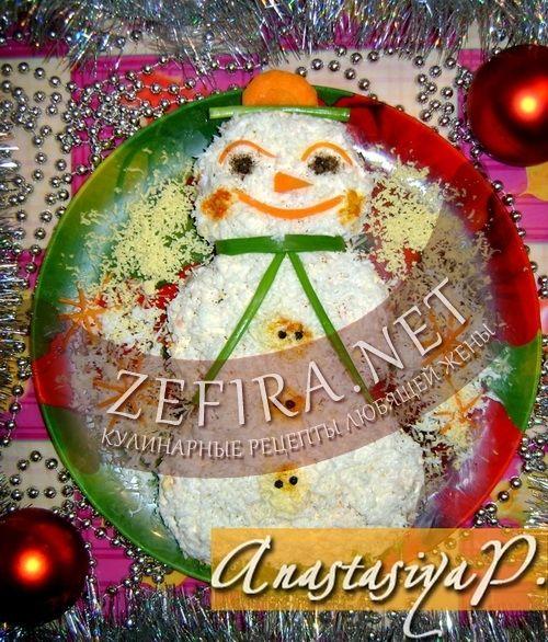 Рецепт новогоднего салата от э.пьехи