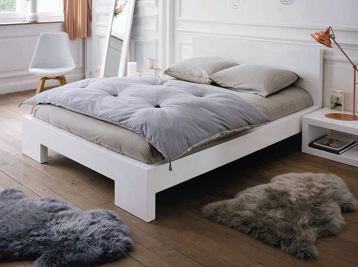 chambre avec tapis fourrure fly - Tapis Color Fly