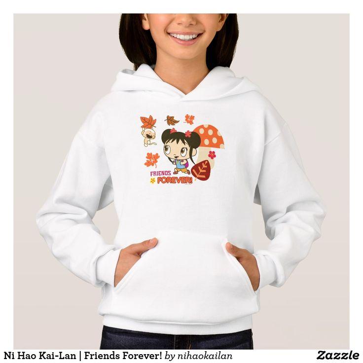 Ni Hao Kai-Lan | Friends Forever! T-Shirt. Producto disponible en tienda Zazzle. Vestuario, moda. Product available in Zazzle store. Fashion wardrobe. Regalos, Gifts. Trendy tshirt. #camiseta #tshir
