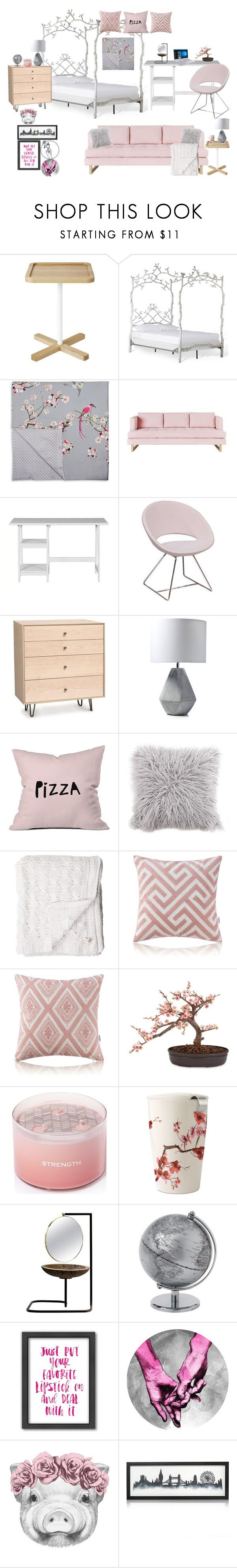"""2B"" by sarahc513 ❤ liked on Polyvore featuring interior, interiors, interior design, home, home decor, interior decorating, Gus* Modern, Ted Baker, Southern Enterprises and B&T"