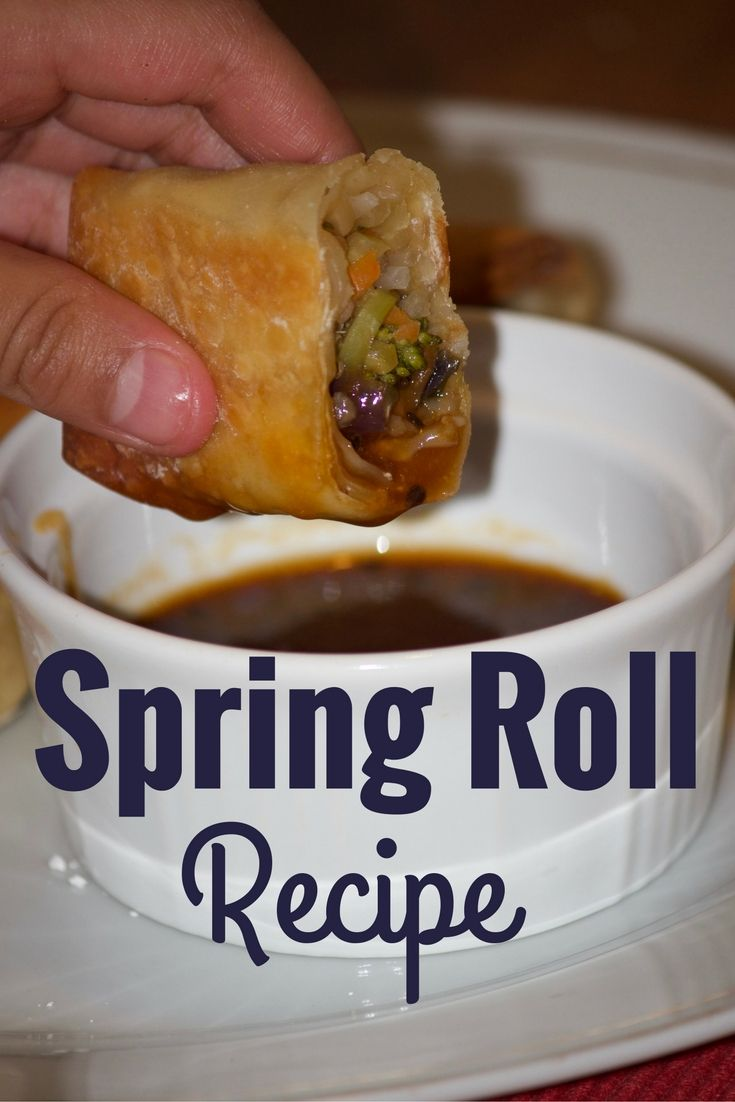 Spring roll is my go-to-appetizer at restaurants. Most spring roll or egg roll recipes suggest frying, but here's a much healthier option.