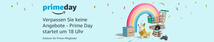 Liebe Deal-Jäger! Heute ab 18 Uhr geht es für amazon Prime Kunden los - der Prime Day startet! Ihr bekommt heute ab 18 Uhr und morgen tausende Artikel stark vergünstigt! Am Besten ihr schaut ab 18 Uhr selber durch ob ihr was gebrauchen könnt. Wir sind schon gespannt auf die Preise, aber erfahrungsgemäß sind die echt gut!   #Amazon #amazonPrime #amazonPrimeDay #Angebote #Elektronik #Foto #Games #Haushalt #Primeday #PrimeDay2017 #Schnäpp