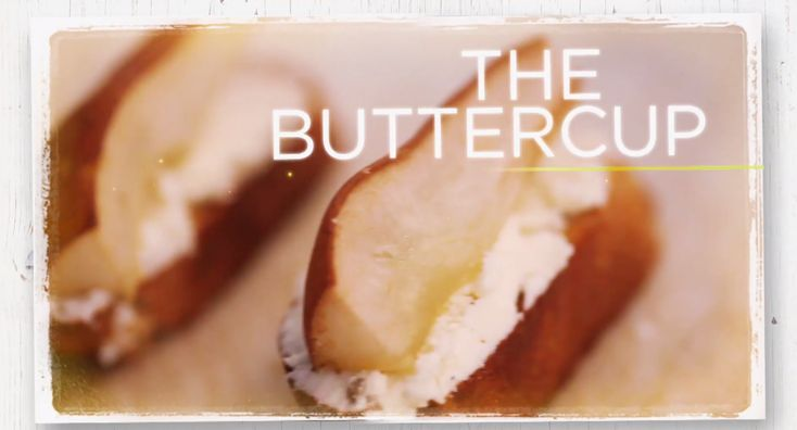 Yummy goat cheese recipes, including pear crostini and a chicken sandwich from Real Girls Kitchen
