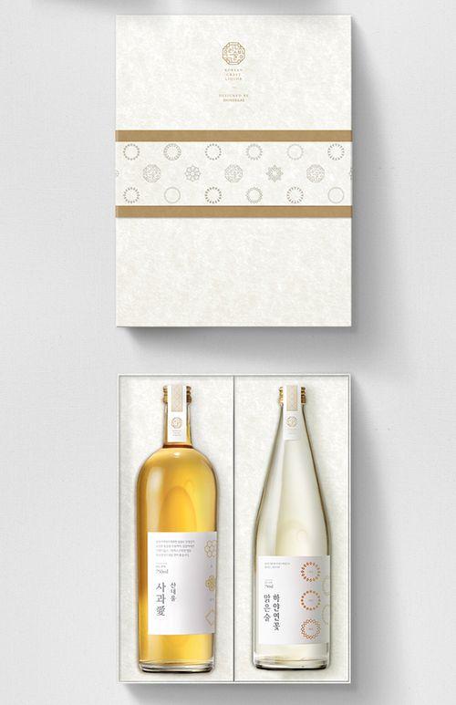 Shinsegae Craft Liquor — The Dieline - Package Design Resource