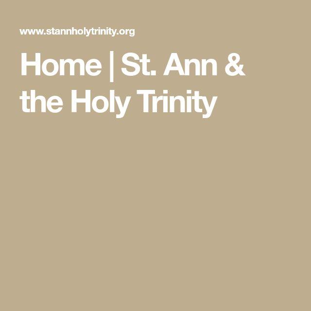 Home   St. Ann & the Holy Trinity