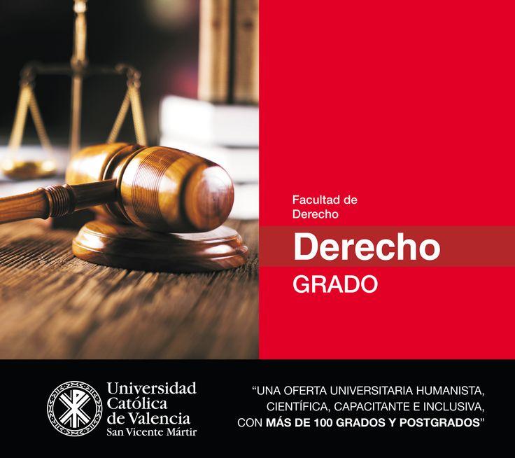 #Grado en #Derecho de la #UCV #EmpleabilidadUCV #TuGradoUCV
