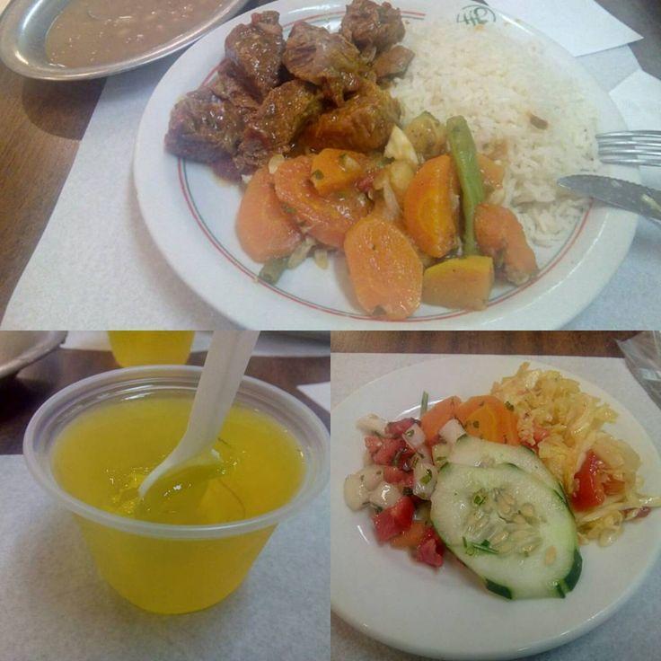 No geral, hoje foi um bom lugar pra se comer, tudo gostoso com certas qualidades…
