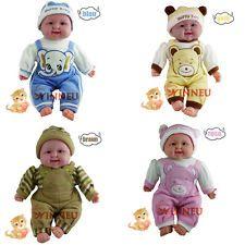 40 cm Lachendes Baby lachende Puppe Spielzeug realitätsnah Funktionspuppe doll