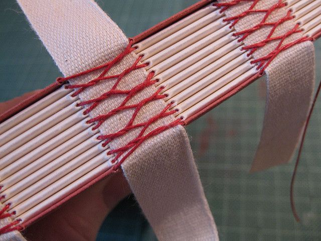 French stitching 2 by A Yen for Paper, via Flickr