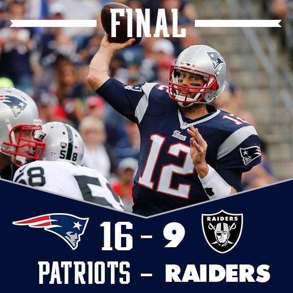Patriots final score. 9-21-14