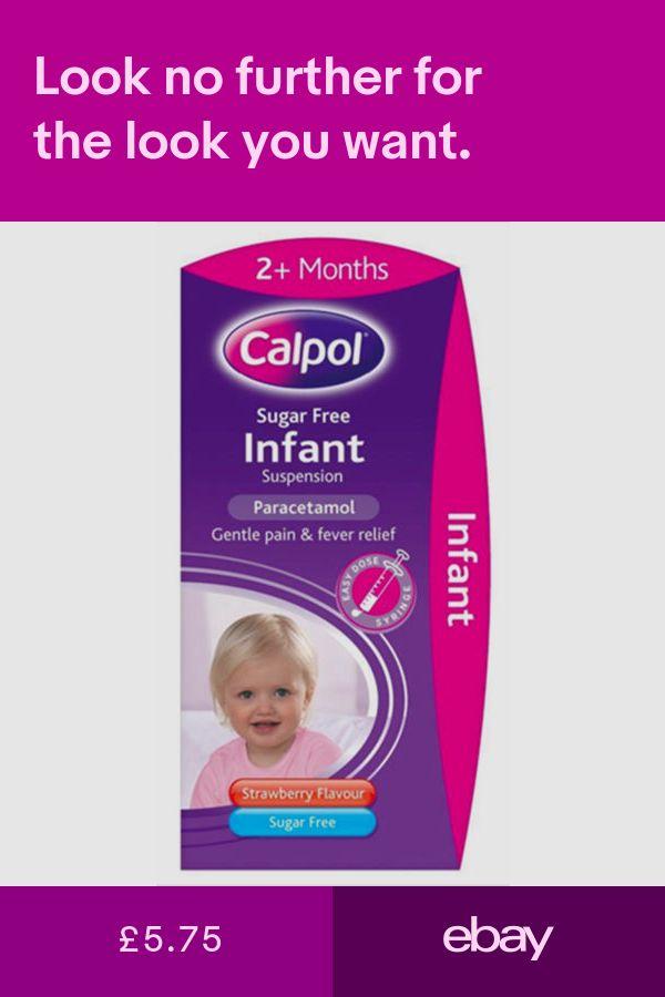 Calpol Cough, Cold & Flu Treatment | Child Pain Relief - Travelpharm