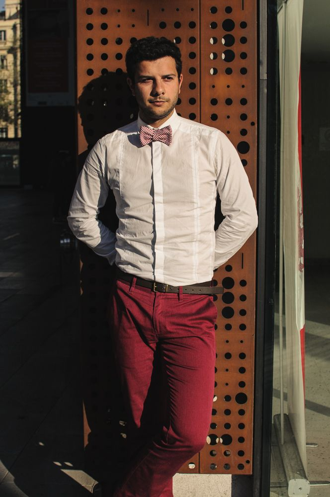 #Me #Bowtie #Chile #man #style #TommyHilfiher
