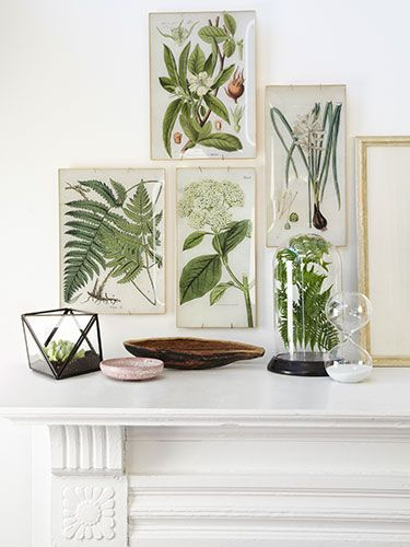 These DIY decoupage trays recall the wares of artist John Derian—only ours cost just a few bucks a pop!