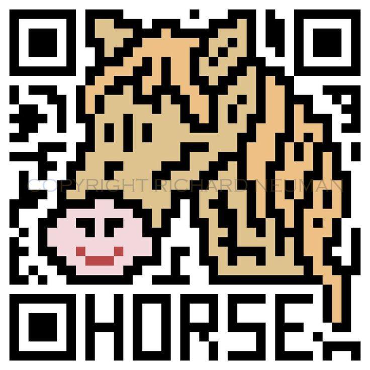 QR Code + Chinese Zodiac Horse
