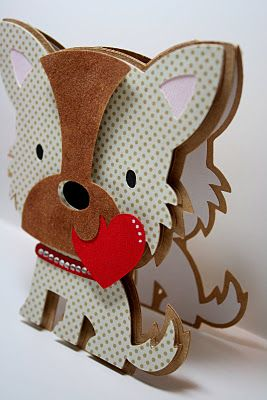 My Paper Trail blog lots of cricut cards