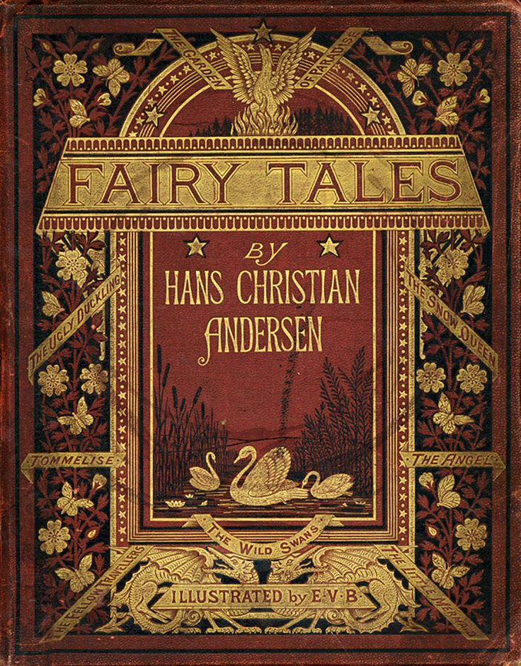 'Fairy tales' by Hans Christian Andersen. Sampson Low, Marston, Low, & Searle, London, 1872