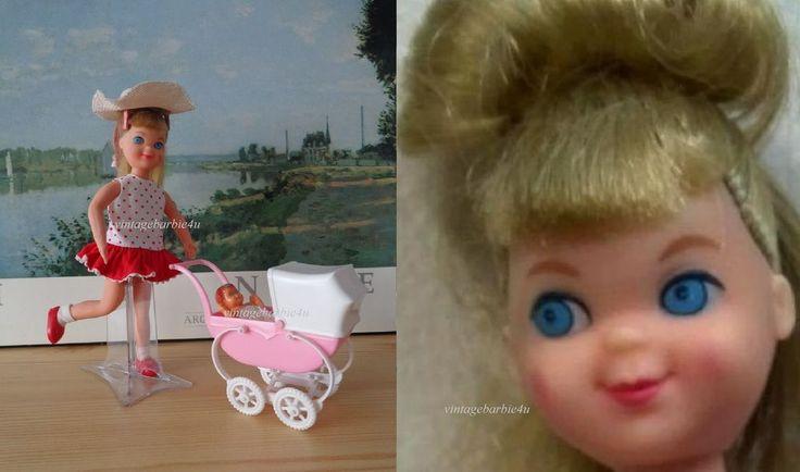 Vintage Barbie Tutti Doll **Walkin' My Dolly #3552 Complete ~ 1st Version ~ VHTF #Mattel #DollswithClothingAccessories