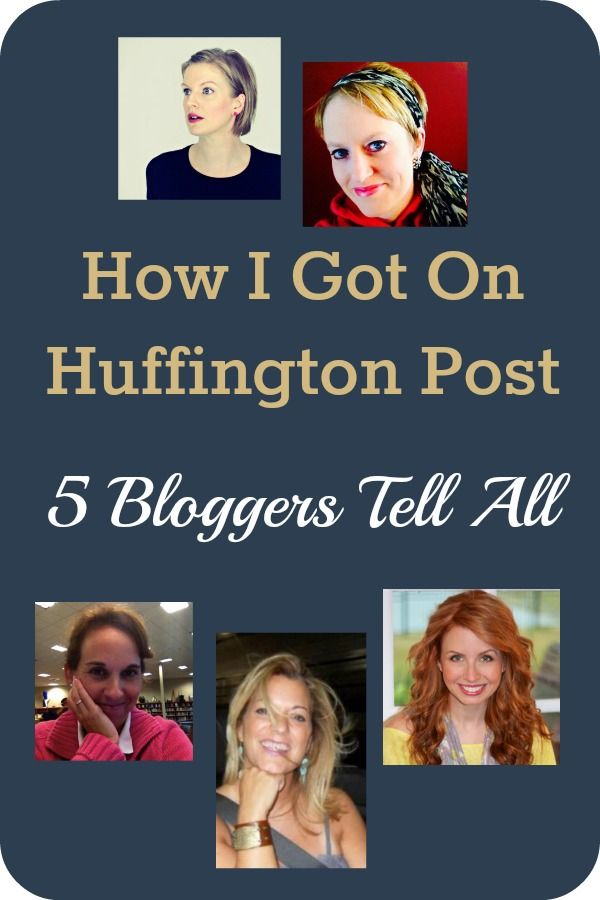 5 bloggers tell their individual stories about how they first got published on The Huffington Post.