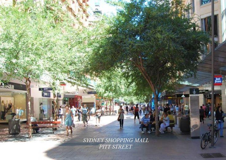 Pitt St shopping mall updated a short time ago.