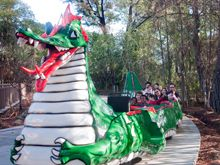 Danny the Dragon bringing joy at Happy Hollow Park and Zoo!: Happy Hallows, Happy Hollow, Love Childhood Memories, Jose Happy, Dragon Bring, Amusement Parkss, Hollow Parks, California Grown, Themed Parks