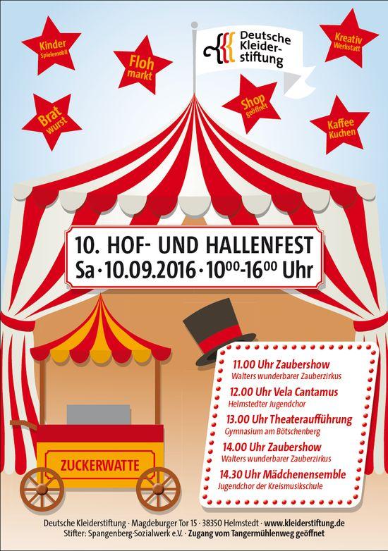 Hof- und Hallenfest :: Deutsche Kleiderstiftung Spangenberg