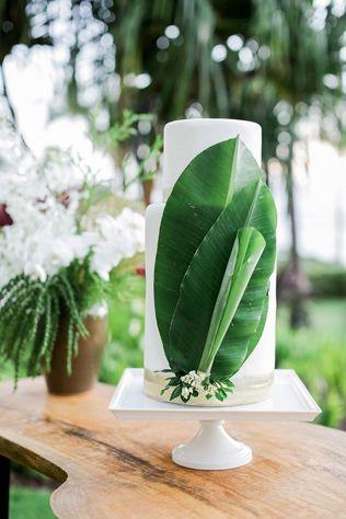 Тренды 2016 года: зеленые листья, пальмы и тропики, свадебный торт - The-wedding.ru