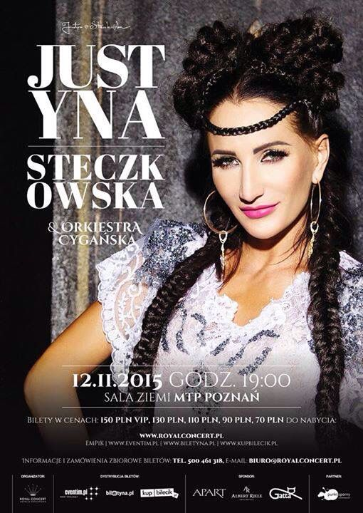 Justyna Steczkowska and Orkiestra Cygańska / costumes Lilit