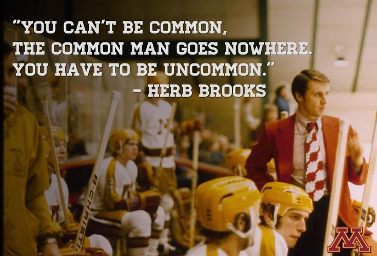 Football Coach Quote Wallpaper Minnesota Gophers On Herb Brooks Quotes Herbs And Hockey