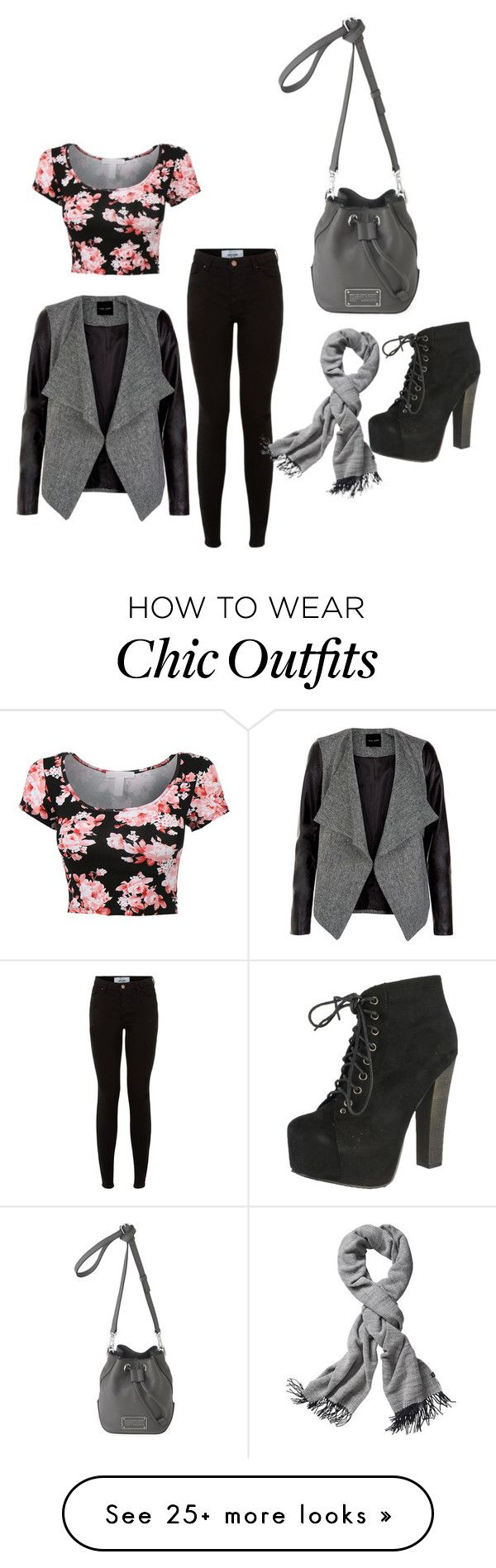 """Outing for Fall"" by lesha-ad on Polyvore featuring Breckelle's, Echo Design Group and Marc by Marc Jacobs"