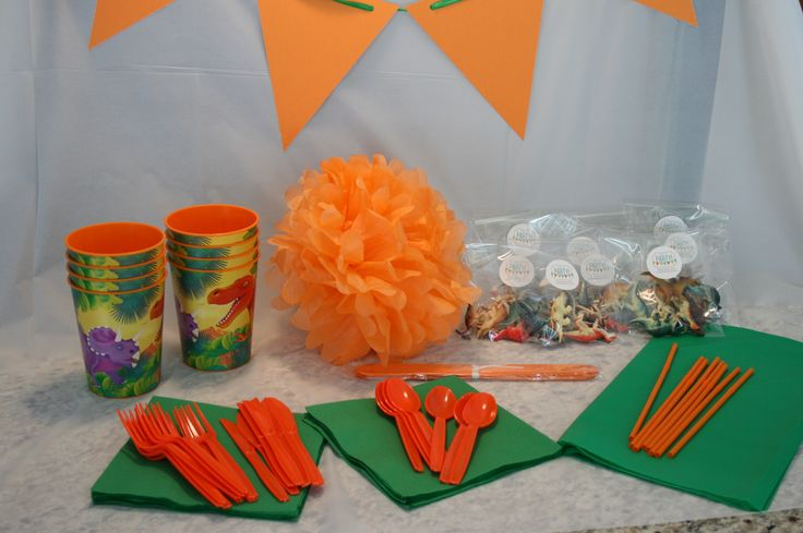 Dino party Package from Ready, Set, Party!