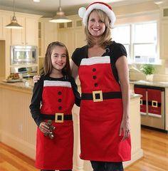 Delantal navideño, un complemento original - #Decoración, #DelantalNavideño, #Navidad  http://lanavidad.es/delantal-navideno-un-complemento-original/3270