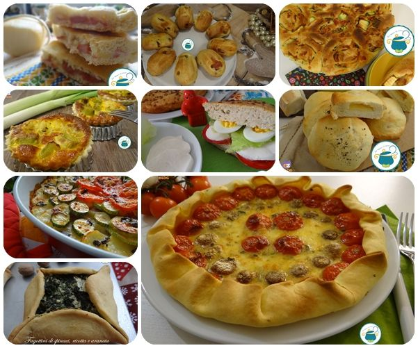 Speciale Torte Salate - raccolta di ricette - Focacce, torta di rose, torte e crostate
