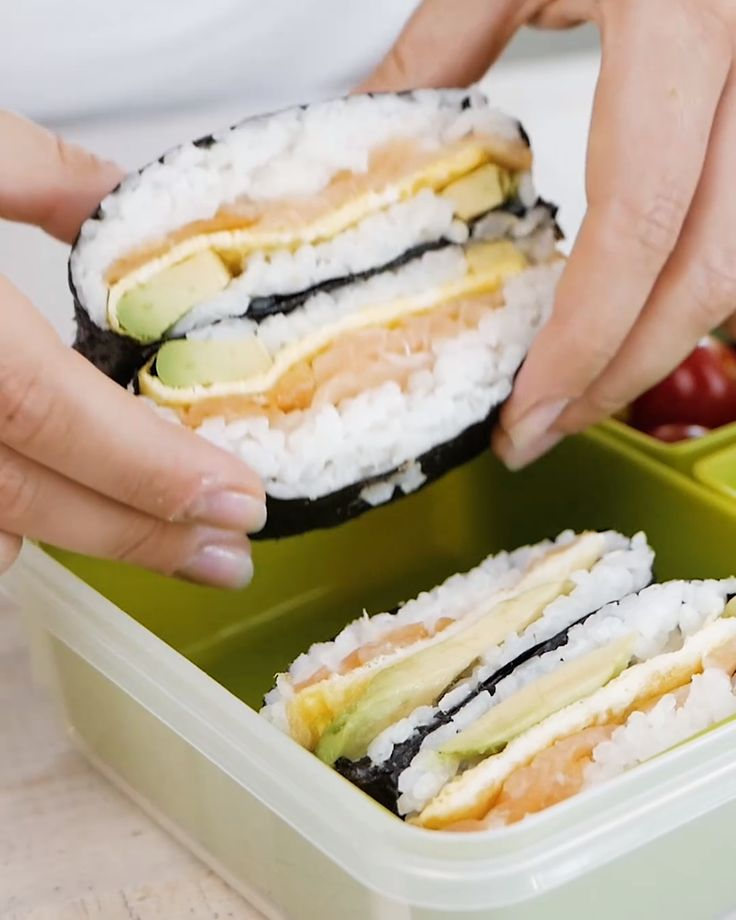 Sushi Burrito zum Selbermachen