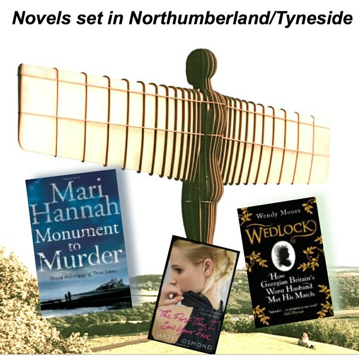 NORTH EAST UK - 3 top books to transport you to Northumberland and the Tyne...