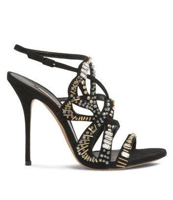 Heels I LOVE! Casadei Evening High Heels #Black #Swarovski #Crystal #Casadei…