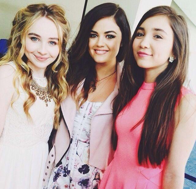 Sabrina Carpenter, Lucy Hale & Rowan Blanchard✨
