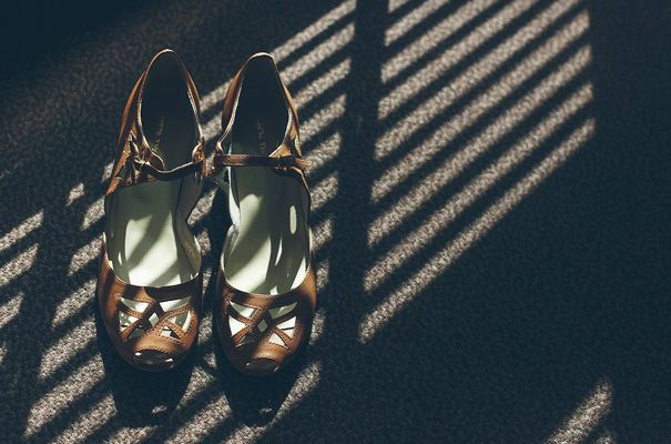I really love photography that plays with shadow and light. This is such a beautiful way to capture the all important party shoes.