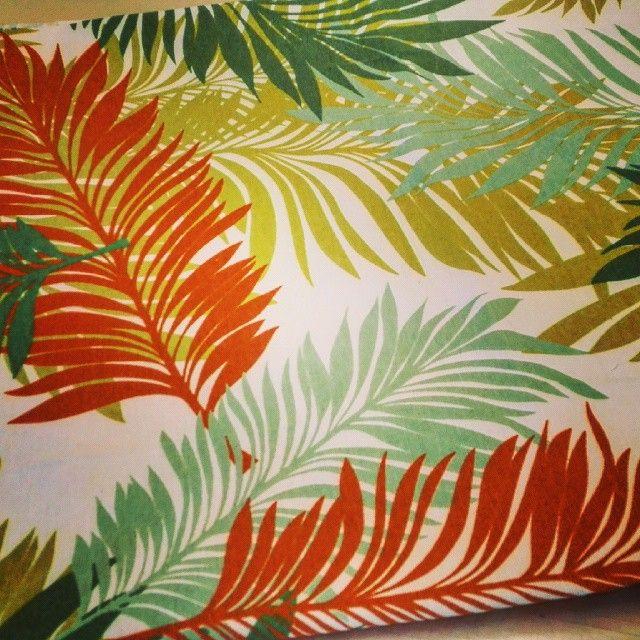 #tejido #tapiceria #cojines #decoracion #verdesynaranjas #cortinas #caidas