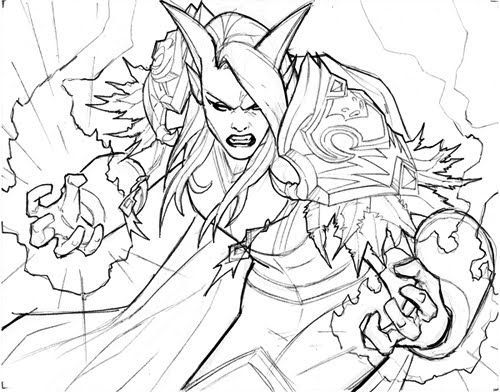 38 Best World Of Warcraft Coloring Pages Images On