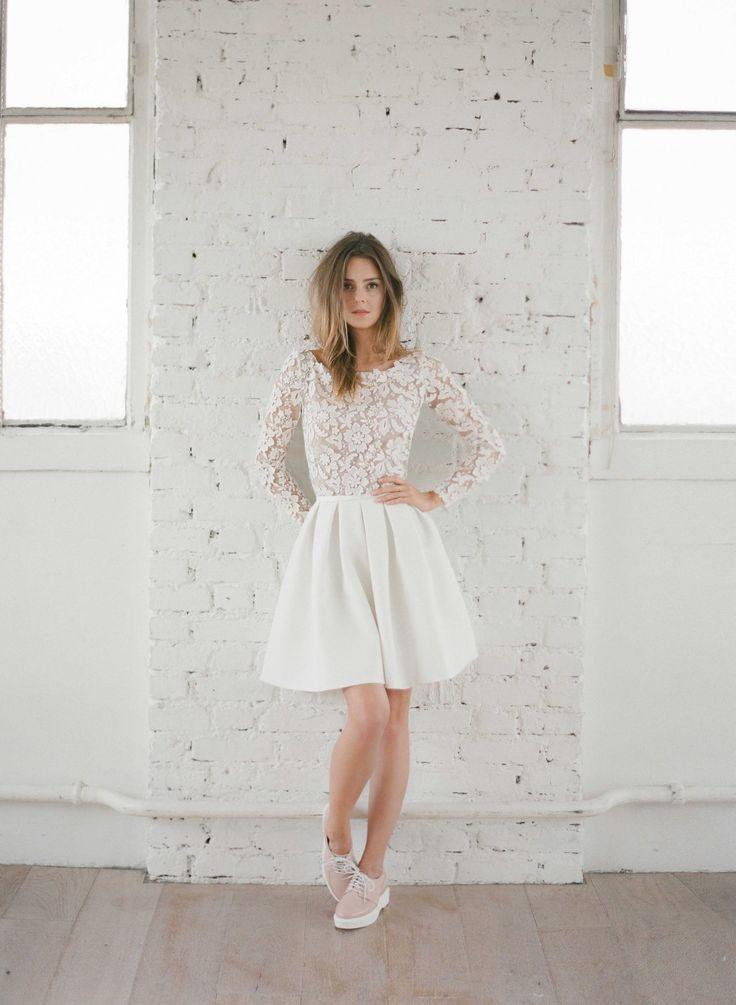 015  Little White Dress  Rime Arodaky  Creatrice de Robe de Mariée
