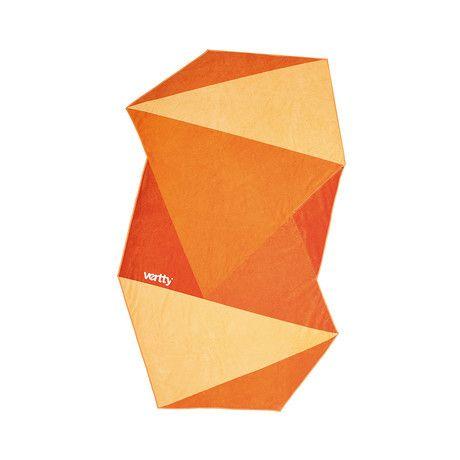 Vertty Beach Towel // Orange