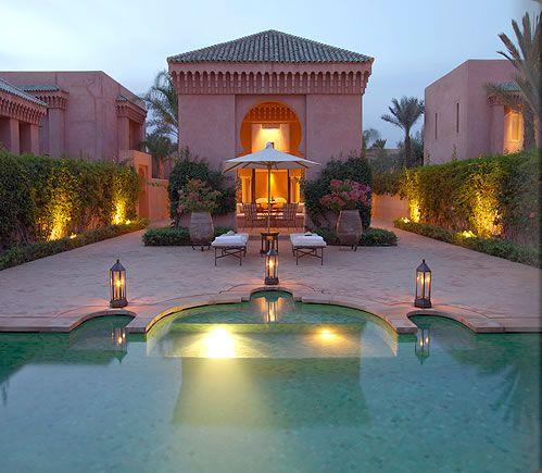 Morocco Luxury Resort Photo Album and Hotel Images - Amanjena - picture tour